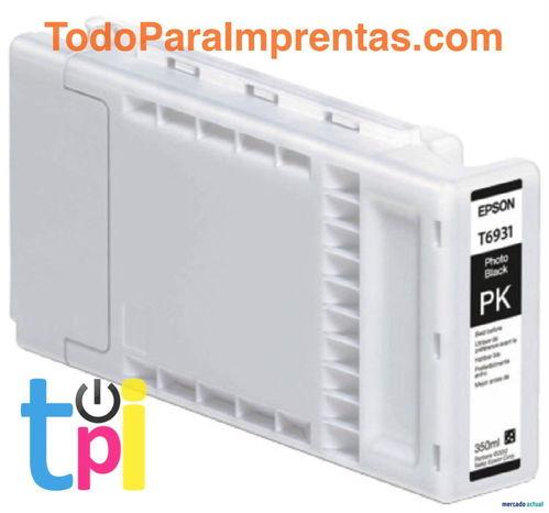 Tinta Epson SC-T3200/T5200/T7200 Negro Foto 350 ml.