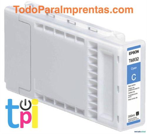Tinta Epson SC-T3200/T5200/T7200 Cian 350 ml.