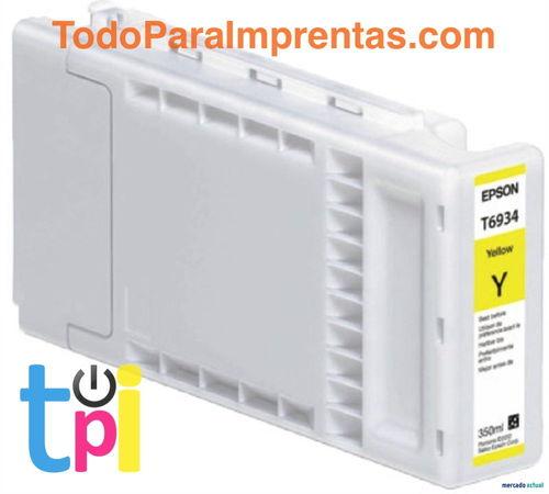 Tinta Epson SC-T3200/T5200/T7200 Amarillo 350 ml.