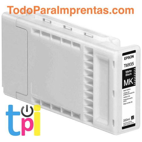 Tinta Epson SC-T3200/T5200/T7200 Negro Mate 350 ml.