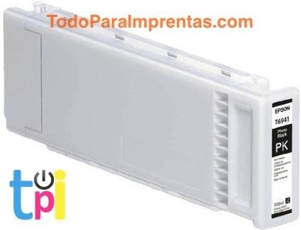 Tinta Epson SC-T3200/T5200/T7200 Negro Foto 700 ml.