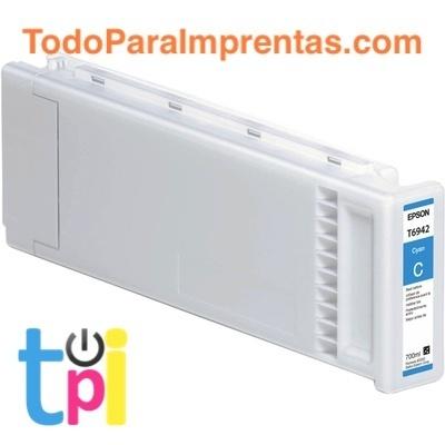 Tinta Epson SC-T3200/T5200/T7200 Cian 700 ml.