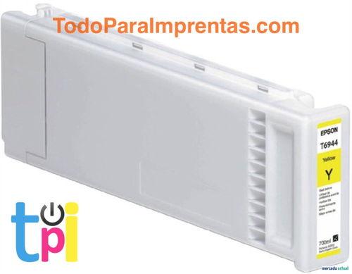 Tinta Epson SC-T3200/T5200/T7200 Amarillo 700 ml.