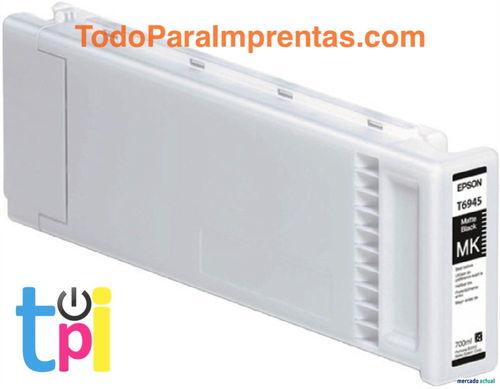 Tinta Epson SC-T3200/T5200/T7200 Negro Mate 700 ml.