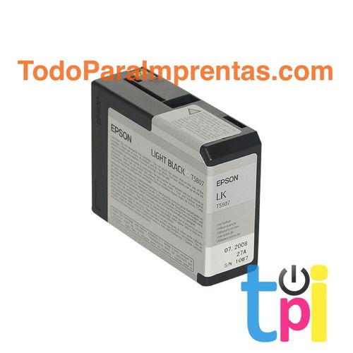 Tinta Epson StylusPro 3800/3880 Gris 80 ml.