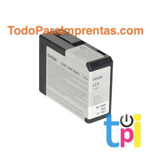 Tinta Epson StylusPro 3800/3880 Gris Claro 80 ml.