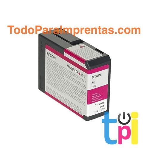 Tinta Epson StylusPro 3800/3880 Magenta Vivo 80 ml.