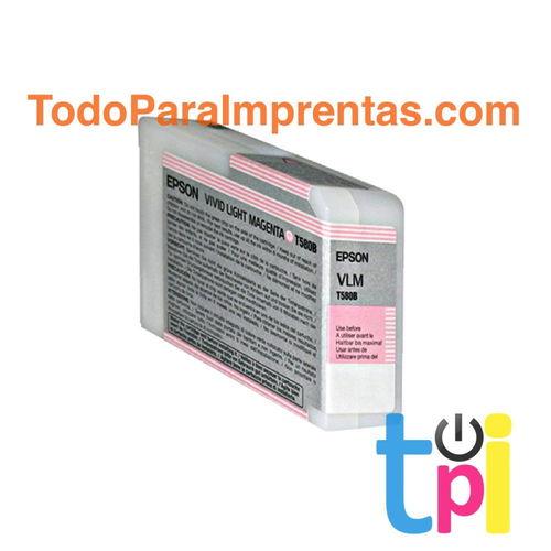 Tinta Epson StylusPro 3800/3880 Magenta claro Vivo 80 ml.