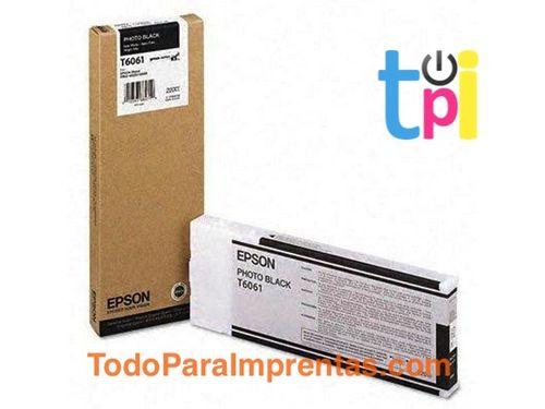 Tinta Epson StylusPro 4800/4880 Negro Foto 220 ml.