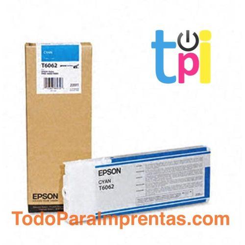 Tinta Epson StylusPro 4800/4880 Cian 220 ml.