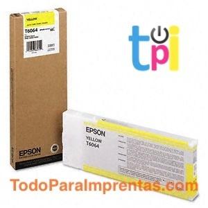 Tinta Epson StylusPro 4800/4880 Amarillo 220 ml.