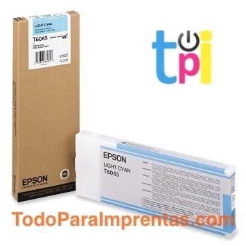 Tinta Epson StylusPro 4800/4880 Cian Claro 220 ml.