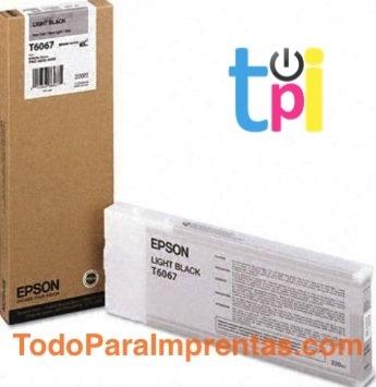 Tinta Epson StylusPro 4800/4880 Gris 220 ml.