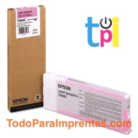 Tinta Epson StylusPro 4800 Magenta Claro 220 ml.
