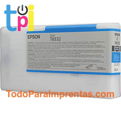 Tinta Epson 4900 Cían 200 ml.