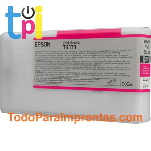 Tinta Epson 4900 Magenta 200 ml.