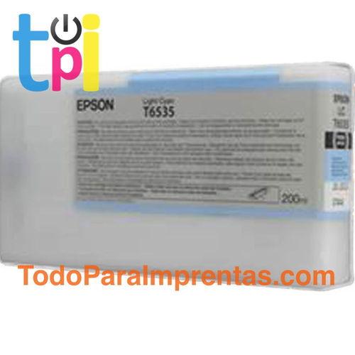 Tinta Epson 4900 Cían claro 200 ml.