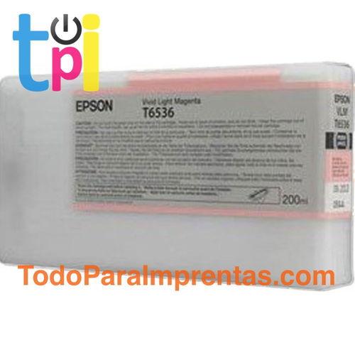 Tinta Epson 4900 Magenta claro 200 ml.