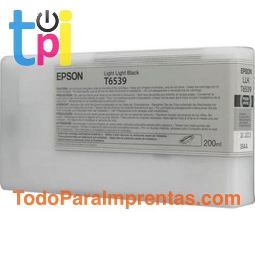 Tinta Epson 4900 Gris claro 200 ml.
