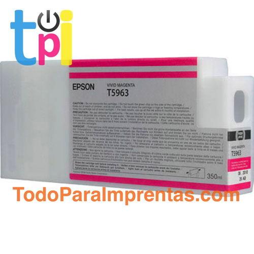 Tinta Epson C13T596300 Magenta 350 ml.