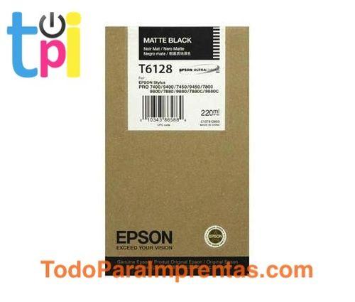 Tinta Epson SP 7400/7450/9400/9450 Negro 220 ml.