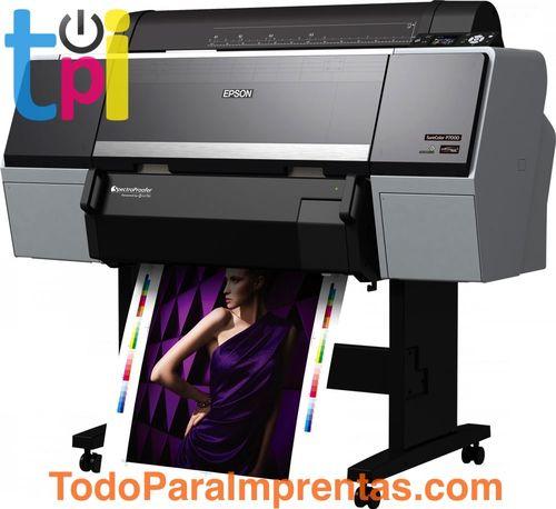 Plotter Epson SureColor SC-P7000 Violet Spectro + Rollo Papel Fogra GRATIS