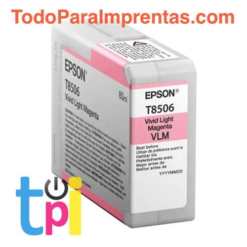 Tinta Epson P800 Magenta Claro 80 ml.