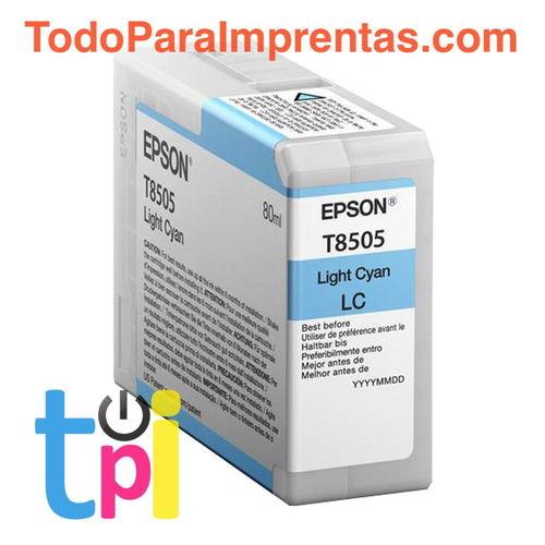 Tinta Epson P800 Cian Claro 80 ml.