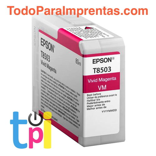 Tinta Epson P800 Magenta 80 ml.