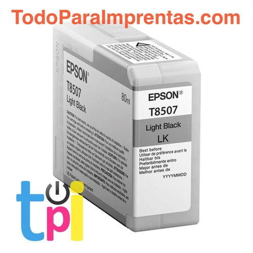 Tinta Epson P800 Gris 80 ml.