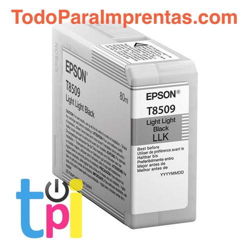 Tinta Epson P800 Gris claro 80 ml.