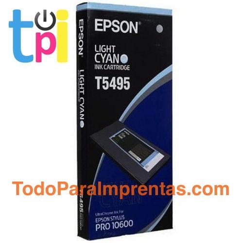 Tinta Epson 10600 Cian Claro 500 ml.