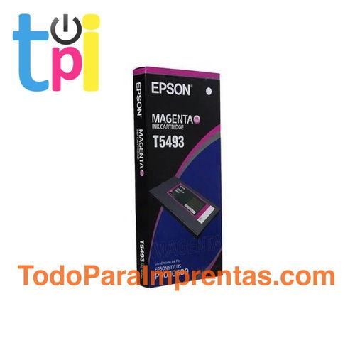 Tinta Epson 10600 Magenta 500 ml.
