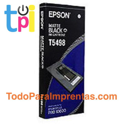 Tinta Epson 10600 Negro Mate 500 ml.