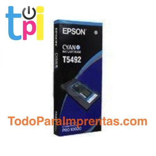 Tinta Epson 10600 Cian 500 ml.