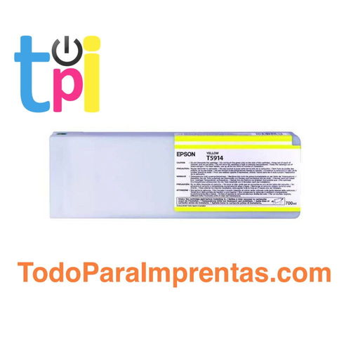 Tinta Epson 11880 Amarillo 700 ml.