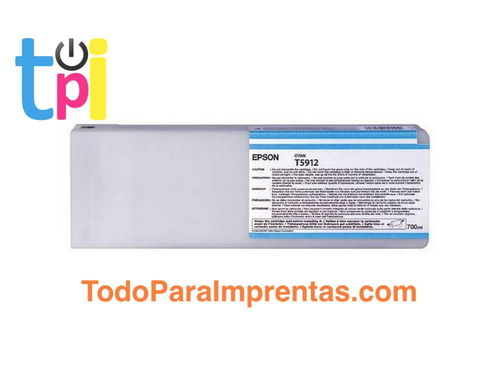 Tinta Epson 11880 Cian 700 ml.