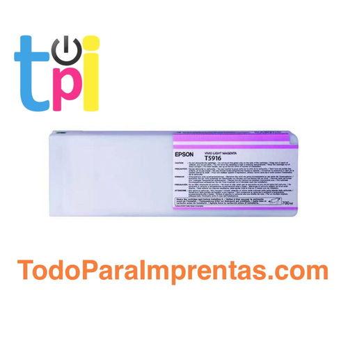 Tinta Epson 11880 Magenta Claro 700 ml.