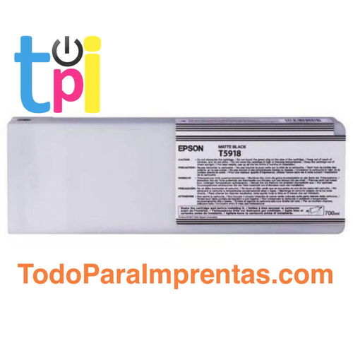 Tinta Epson 11880 Negro Mate 700 ml.