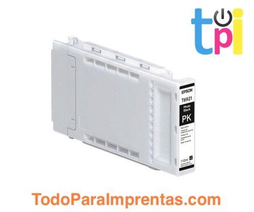 Tinta Epson SC-T3200/T5200/T7200 Negro Foto 110 ml.