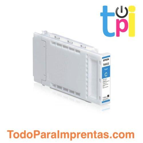 Tinta Epson SC-T3200/T5200/T7200 Cian 110 ml.