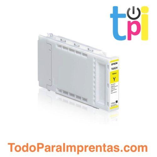 Tinta Epson SC-T3200/T5200/T7200 Amarillo 110 ml.
