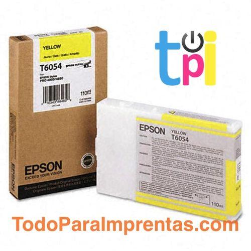 Tinta Epson StylusPro 4800/4880 Amarillo 110 ml.