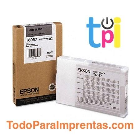 Tinta Epson StylusPro 4800/4880 Gris 110 ml.