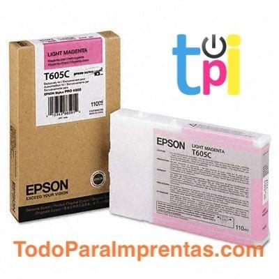 Tinta Epson StylusPro 4800 Magenta Claro 110 ml.