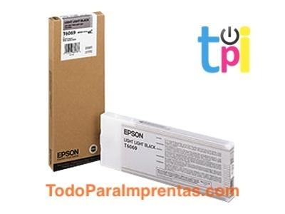 Tinta Epson StylusPro 4800/4880 Gris Claro 220 ml.