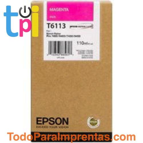 Tinta Epson SP 7400/7450/9400/9450 Magenta 110 ml.