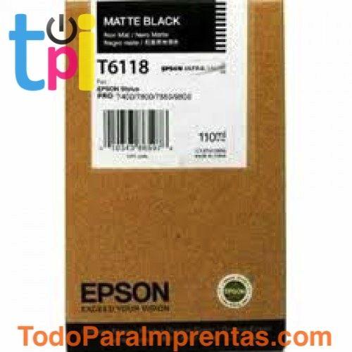 Tinta Epson SP 7400/7450/9400/9450 Negro 110 ml.