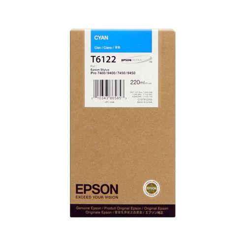 Tinta Epson SP 7400/7450/9400/9450 Cian 220 ml.
