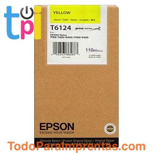 Tinta Epson SP 7400/7450/9400/9450 Amarillo 110 ml.